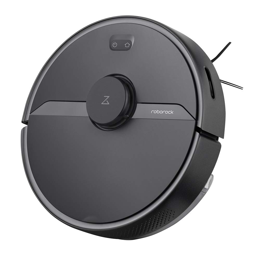Roborock S6 Pure Robot Vacuum Cleaner, Multi-Floor Mapping, Lidar Navigation, No-go Zones, Selective Room Cleaning, Super Strong Suction, Wi-Fi Connected Robotic Vacuum and Mop