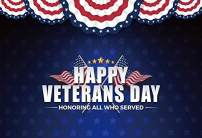 Baocicco Polyester 7x5ft Background for Happy Veterans Day Honoring All Who Served The United States Photography Backdrop Golden Stars Patriotic Party National Day The Old Glory Photoshoot Props