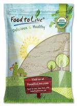 Organic Guar Gum Powder, 5 Pounds - Great Thickener & Binder, Food Grade, Perfect for Baking, Non-GMO, Kosher, Vegan, Bulk