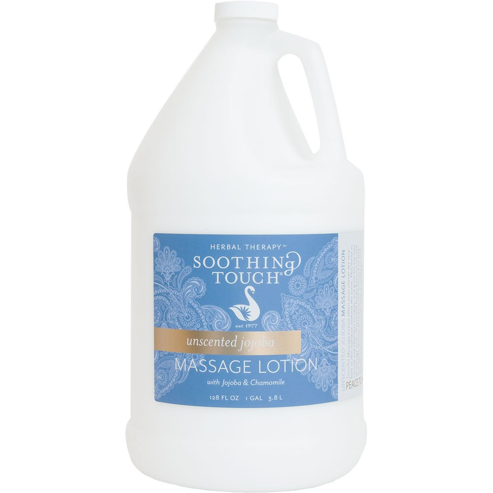 Soothing Touch Unscented Jojoba Massage Lotion Gallon