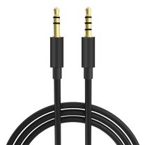 16FT Extra Long Male to Male Universal Aux Audio Stereo Cable for All 3.5mm-Enabled Devices, Apple iPhone, iPad, iPod, HDTV, PC, Phone, Windows, MP3, Headphones, Home/Car Stereos and More (16FT)