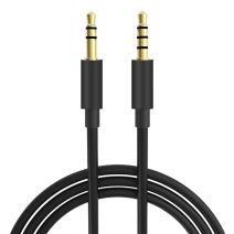 33FT Extra Long Male to Male Universal Aux Audio Stereo Cable for All 3.5mm-Enabled Devices, Apple iPhone, iPad, iPod, HDTV, PC, Phone, Windows, MP3, Headphones, Home/Car Stereos and More (33FT)