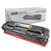 LD Remanufactured Toner Cartridge Replacement for HP 125A CB542A (Yellow)