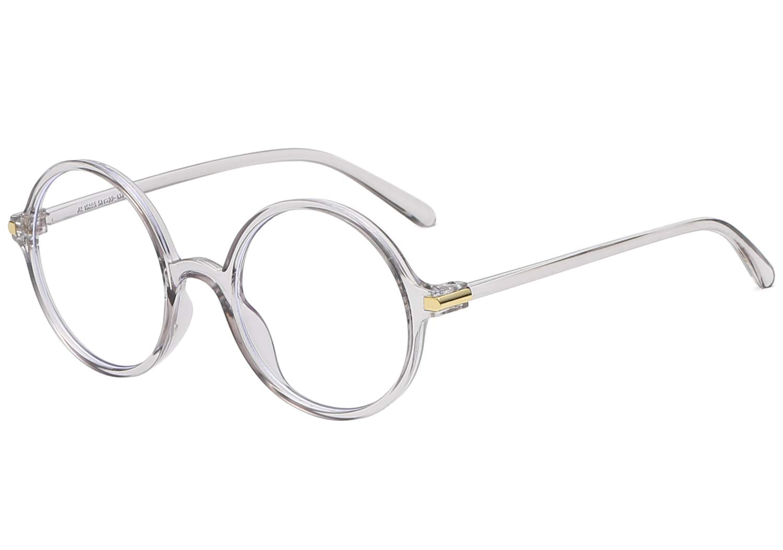 Agstum Blue Light Blocking Glasses Anti-fatigue Gaming Glasses Round Computer Glasses