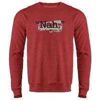 Pop Threads Nah. Rosa Parks 1955 Quote Black History Crewneck Sweatshirt for Men