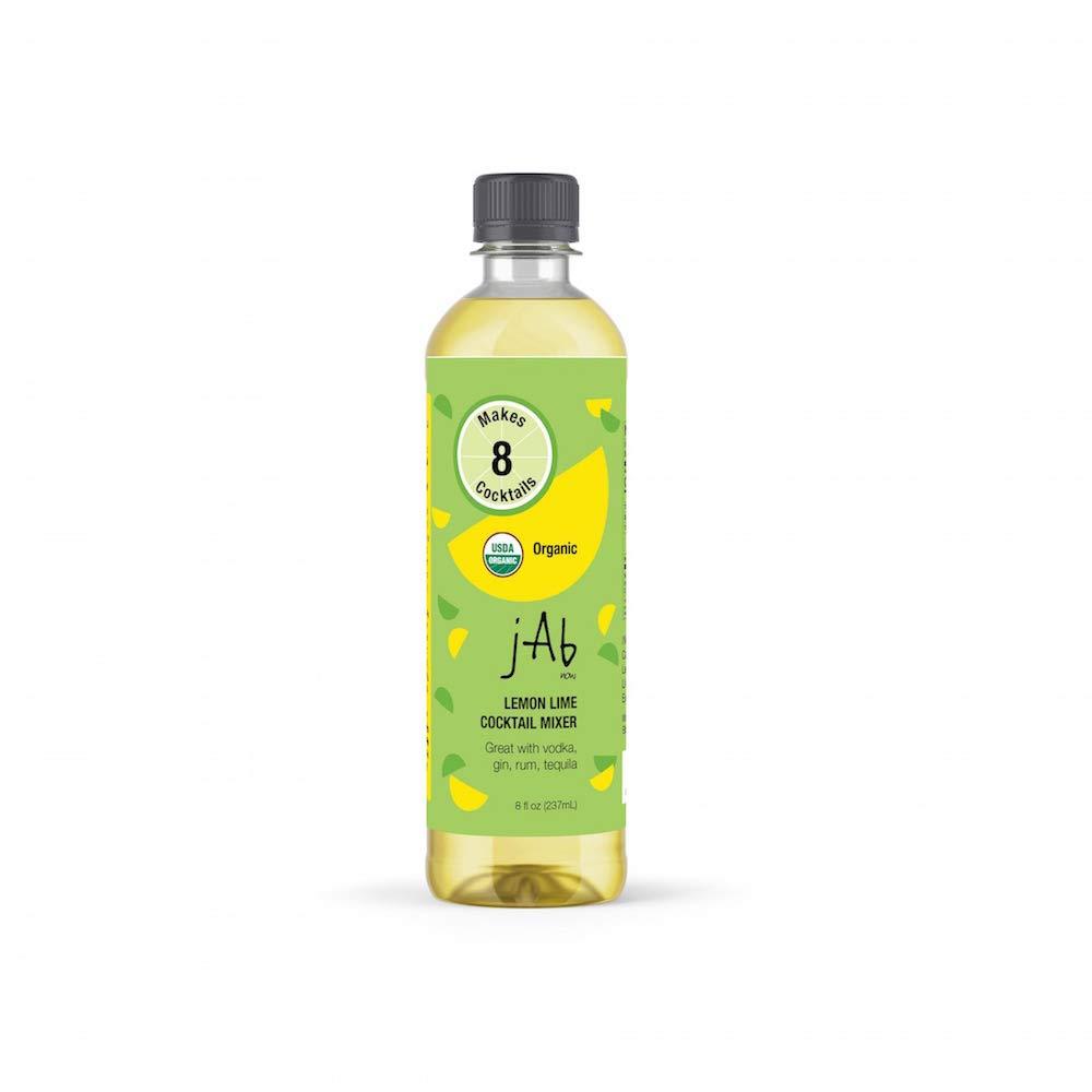 JABnow Organic Lemon Lime Cocktail Mixer