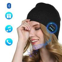 Lixada Bluetooth Beanie Hat,Bluetooth Headphones Beanie,Winter Knitting Beanie Cap Built-in Mic and HD Stereo Speakers for Music Lover Unique Unisex Gifts for Men/Women/Teens/Boys/Girls