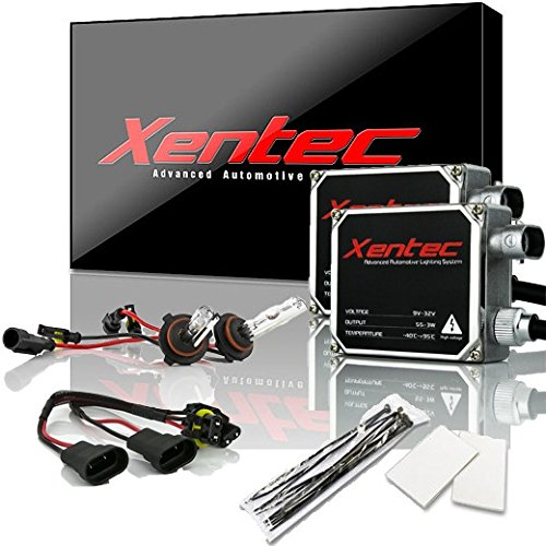 XENTEC 55W Standard Size Ballasts x 2 bundle with 2 x Xenon Bulb 9005 GREEN offroad (HB3/9055/H12) offroad