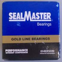 """Sealmaster TFT-16TC-1 Standard Duty Flange Unit, 2 Bolt, Regreasable, Contact Seals, Skwezloc Collar, Cast Iron Housing, 1"""" Bore, 3-3/4"""" Overall Length, 3"""" Bolt Hole Spacing Width, 11/16"""" Flange Height"""