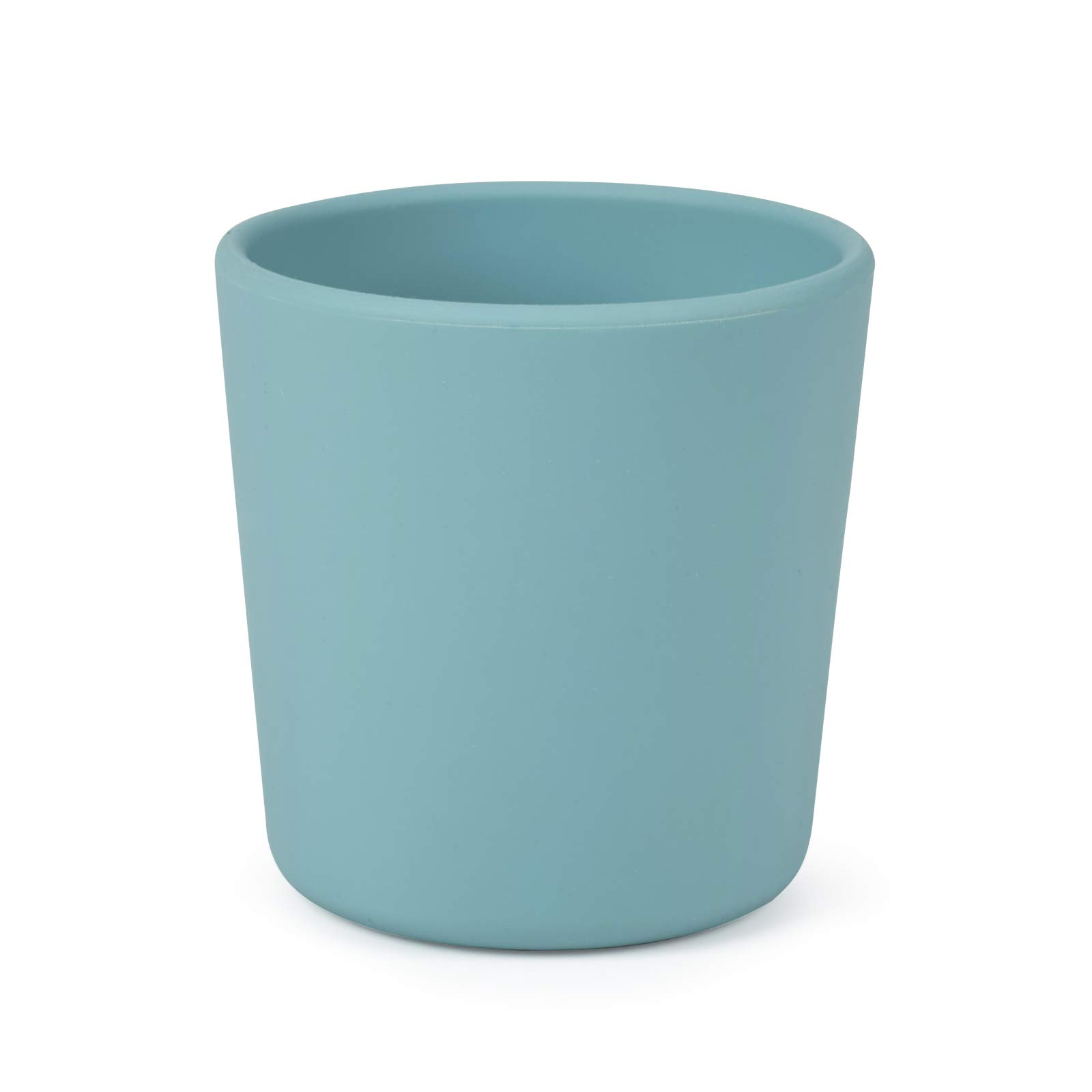 Toddler Cups BPA-Free, Silicone Baby Cup Unbreakable, Training Cup for Babies and Toddlers, Non-Smell, Anti-Slip, Dishwasher Safe (green)