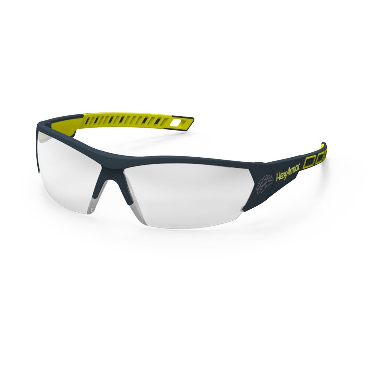 MX250 Lightweight Silver Mirror Anti Fog Safety Glasses