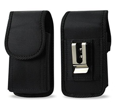 """AGOZ Military Grade Belt Clip Pouch Case Holster Compatible with Car Key Remote FOB, Inhaler, Pepper Spray, Mace, Narcan, Small Blade Knife, Small Hand Sanitizer 4.3""""x2.2""""x1"""""""