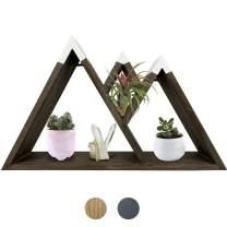 Majestic Floating Mountain Shelf - Rustic Shelves & Wood Shelf for Mountain Decor, Cabin Decor, Woodland Nursery Decor, Nursery Wall Decor, Rustic Bedroom Decor | DASH