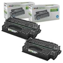 LD Compatible Toner Cartridge Replacement for HP 53X Q7553X High Yield (Black, 2-Pack)