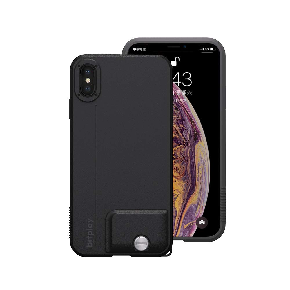 New bitplay SNAP! Case in Black - Camera Case for iPhone Xs Max (Lenses Not Included)