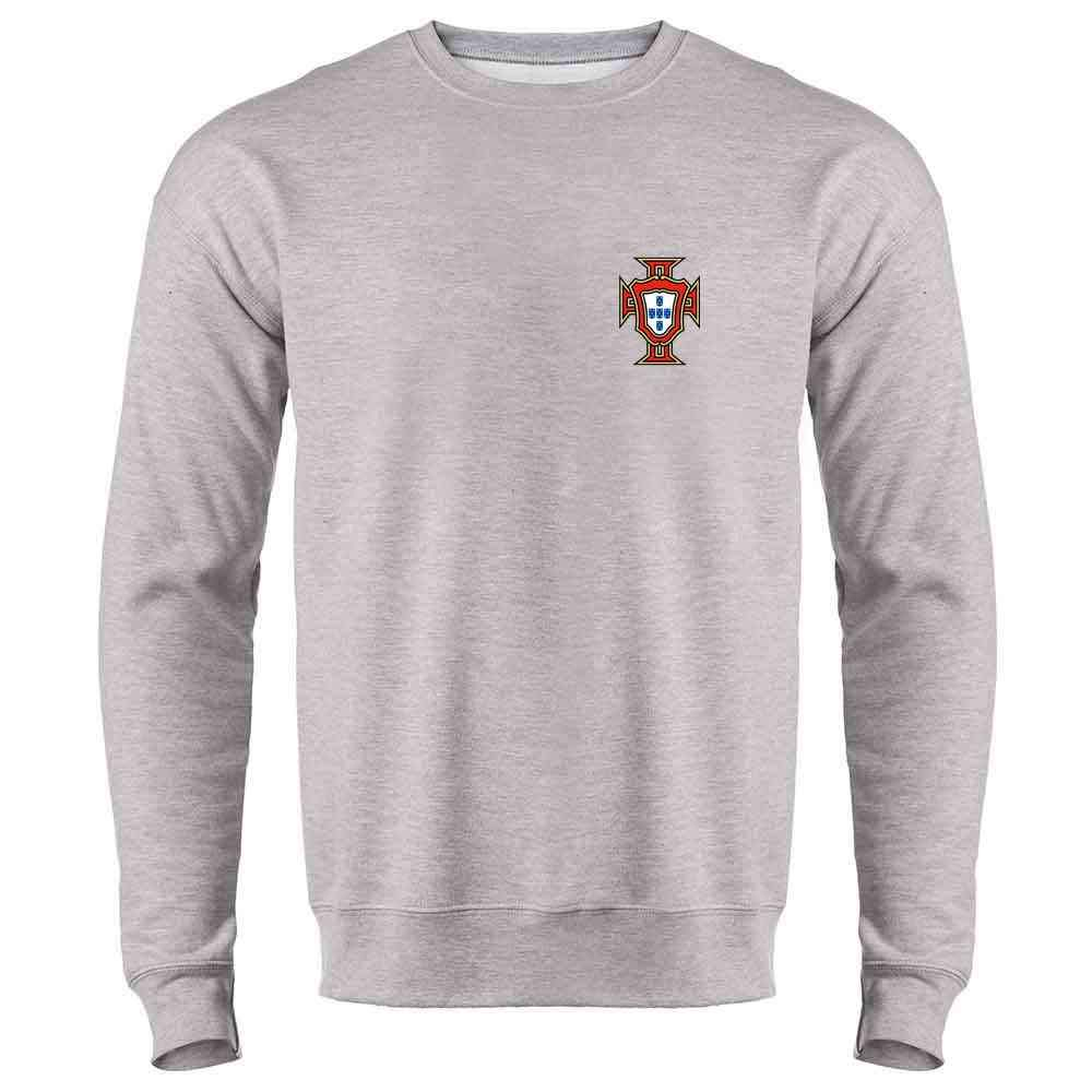 Portugal Soccer Retro National Team Football Crewneck Sweatshirt for Men