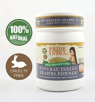 Pride Of India - Indian Brahmi (Bacopa Monnieri) Herbal Hair & Skin Care Powder, Half Pound, 100% Natural