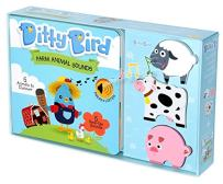 Ditty Bird Our Best Gift Box: Interactive Musical Noisy Farm Animals Book and Toy Figures for Babies. Books for 1 Year Old, Baby, Toddler. 1 Year Old boy Gifts. 1 Year Old Girl Gifts.