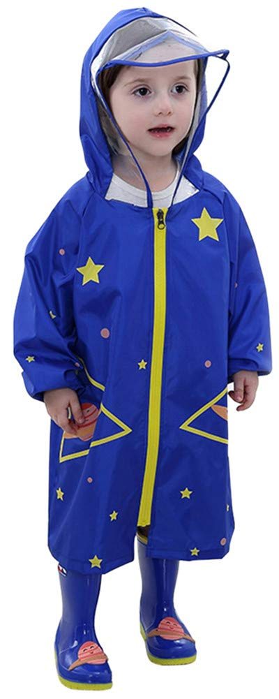 Baby Rainsuit Infant Toddlers Kids Rain Coverall Baby Boys Baby Girls Outdoors Rain Suit 1-7T