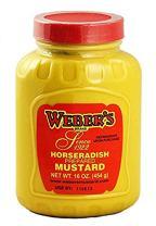 Webers Horseradish Mustard - 16oz. (2-Pack)