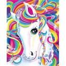 NEILDEN DIY 5D Diamond Painting Kits for Adults Full Drill Unicorn Round Diamond Gem Art Paint by Diamonds Crafts Art for Home Wall Decor(12x16 inch/30x40cm)