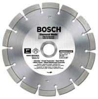 Bosch DB764 Premium Plus 7-Inch Dry or Wet Cutting Segmented Diamond Saw Blade with 5/8-Inch Arbor for Granite