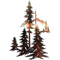 Forest Lodge Wall Hanging - Large - Wilderness Decor