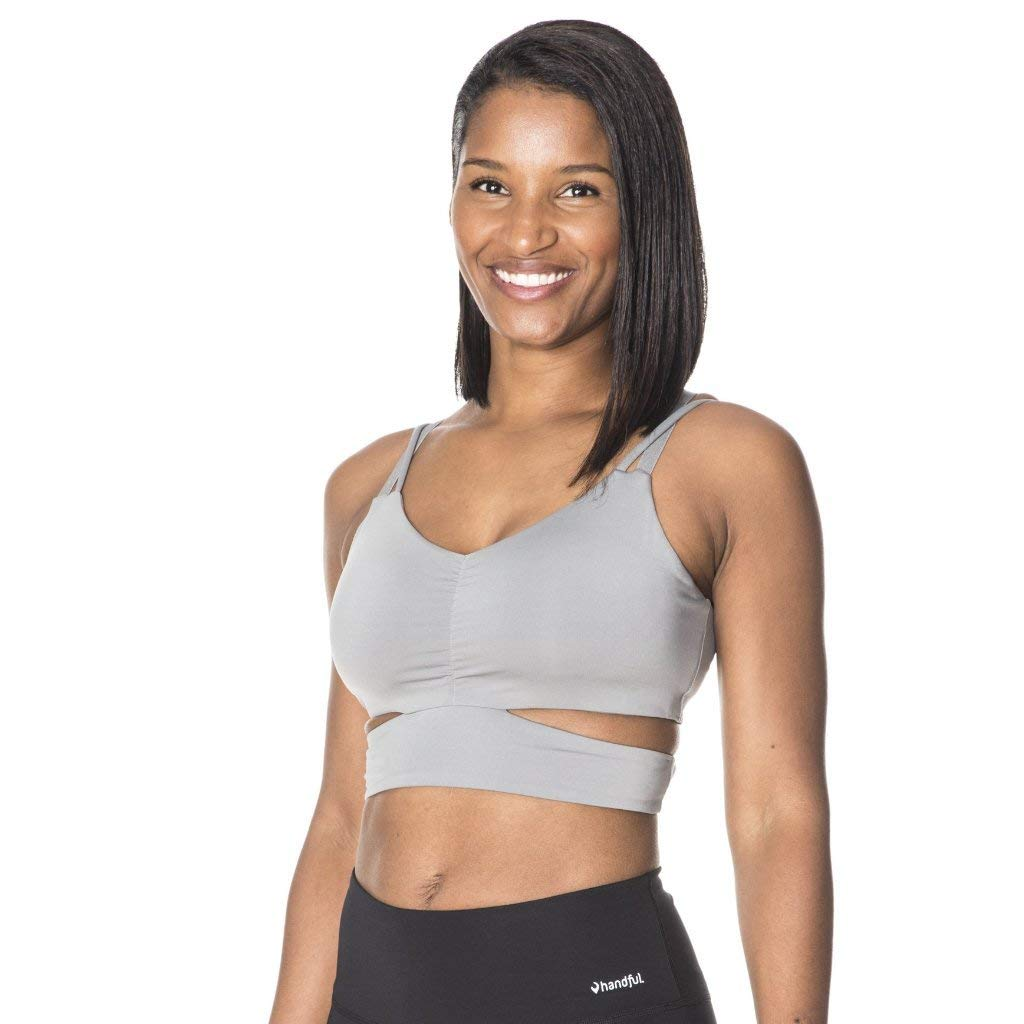 Bound & Determined Women's High Impact Sports Bra with Removable Pads, Wire Free Bra