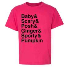 Pumpkin Spice Girls Funny Fall Autumn Costume Toddler Kids Girl Boy T-Shirt