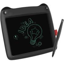 LCD Writing Tablet, Doodle Board 9'' Electronic Writing & Drawing Board, Kids Gift for Girls/Boys, Handwriting Paper Drawing Tablet Home & School Use [Black]