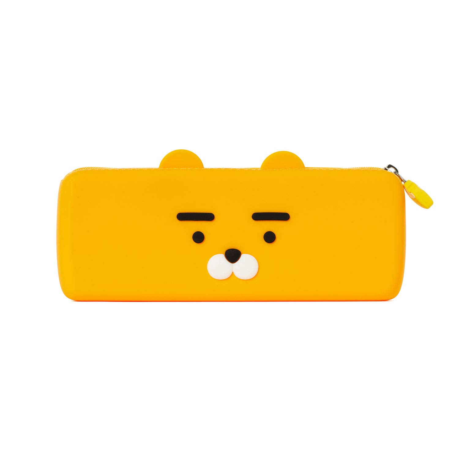 KAKAO FRIENDS Official- Silicone Pencil Case Face Type (Ryan)