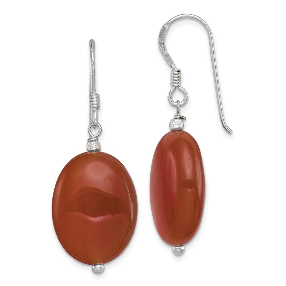 925 Sterling Silver Carnelian Drop Dangle Chandelier Earrings Fine Jewelry For Women Gifts For Her
