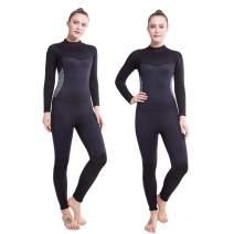 Flexel Wetsuit Women and Men 3mm Full Thermal 2mm Neoprene Wet Suit for Surfing Snorkeling Diving Swimming