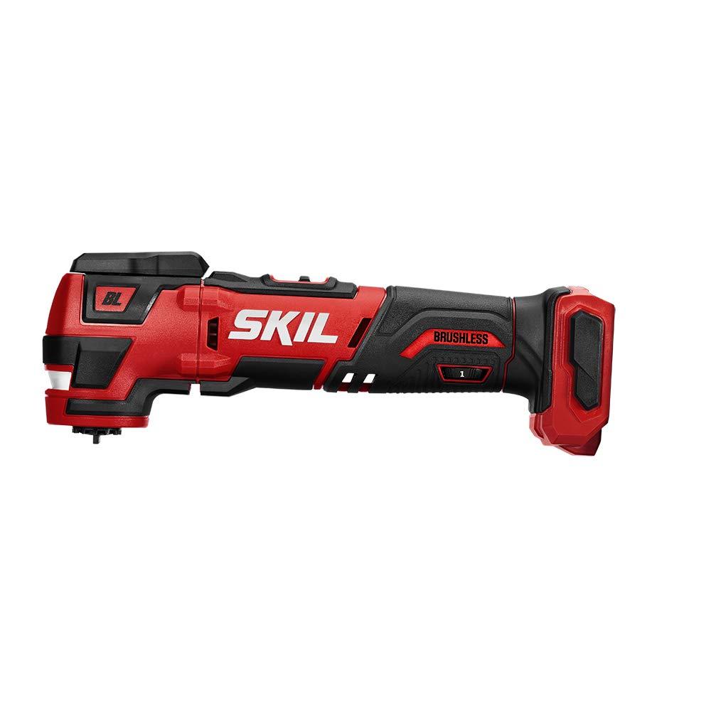 SKIL PWRCore 12 Brushless 12V Oscillating MultiTool, Bare Tool - OS592701