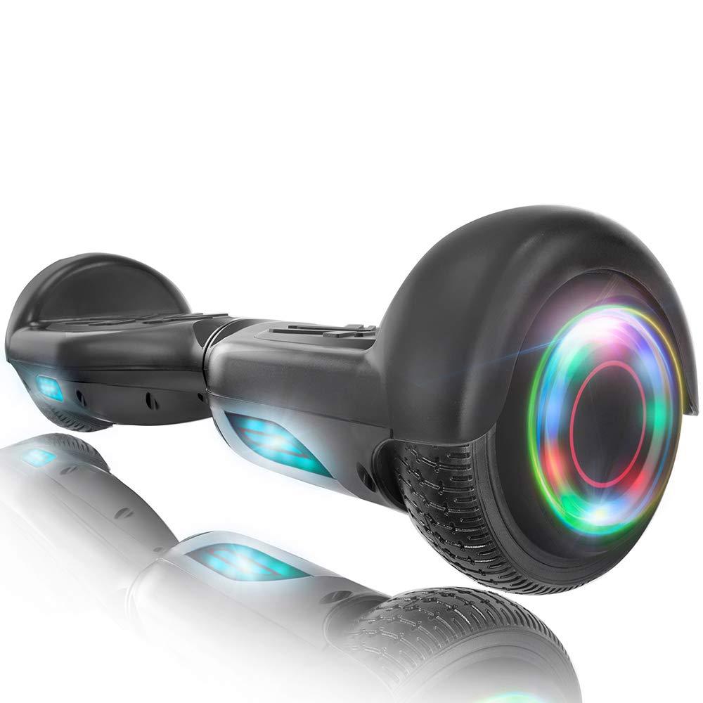 XPRIT 6.5'' Self Balancing Hoverboard w/Wireless Speaker, Flashing Wheel