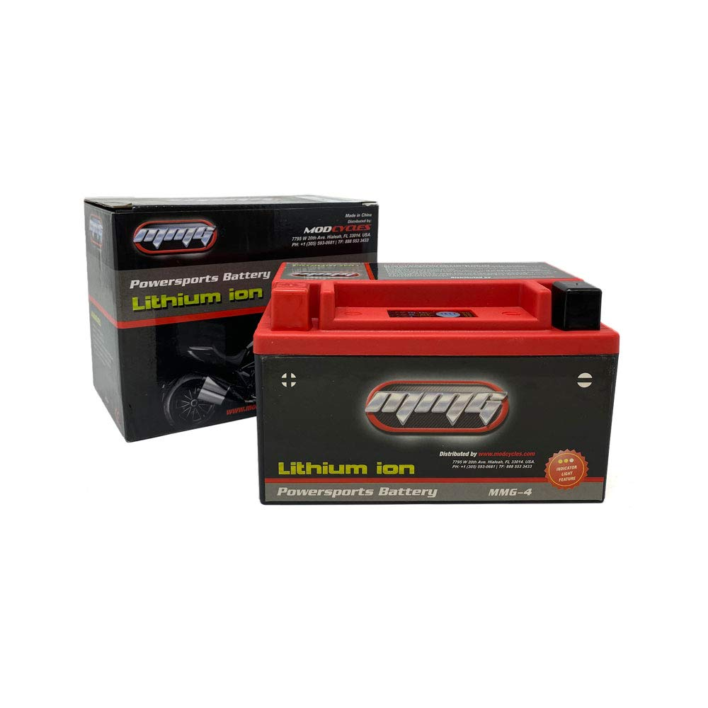 MMG YTZ12S Z12S Lithium Ion Sealed Powersports Battery 12V, 300 CCA, No Spills, Fully Charged and Activated Ready to Use (MMG4)