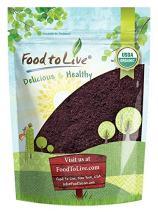 Organic Acai Berry Powder, 1 Pound - Non-GMO, Kosher, Raw, Vegan, Freeze-Dried, Unsweetened, Unsulfured, Bulk