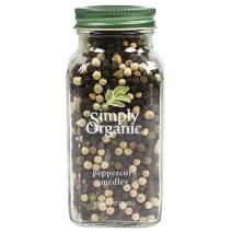Simply Organic Peppercorn Medley, Certified Organic | 2.93 oz | Pack of 2