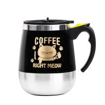 Update Self Stirring Mug Auto Self Mixing Stainless Steel Cup for Coffee/Tea/Hot Chocolate/Milk Mug for Office/Kitchen/Travel/Home -450ml/15oz