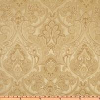 Eroica Enterprises UL-819 Eroica Hollyhock Damask Jacquard Pearl Fabric by the Yard