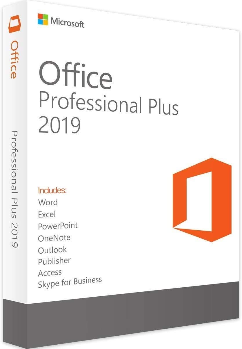 Office Professional 2019 1 PC (Lifetime Download) for Windows 10