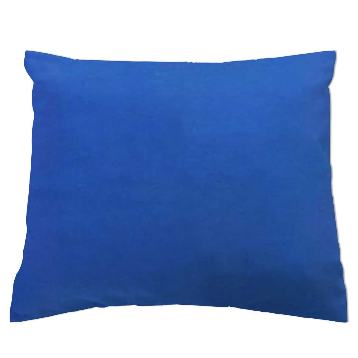 SheetWorld - Baby Pillow Case - Percale Pillow Case - Deep Solids - Royal Blue - Made In USA