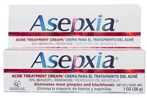 ASEPXIA Acne Spot Treatment Cream for Pimples and Blackheads with 10% Benzoyl Peroxide, 1 ounce