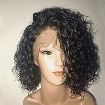 Dorosy Hair 360 Lace Frontal Wigs 150% Denisty Human Hair Wigs for Black Women Curly Brazilian Virgin Hair Pre Plucked Lace Wigs with Baby Hair (10 inch with 150% density)