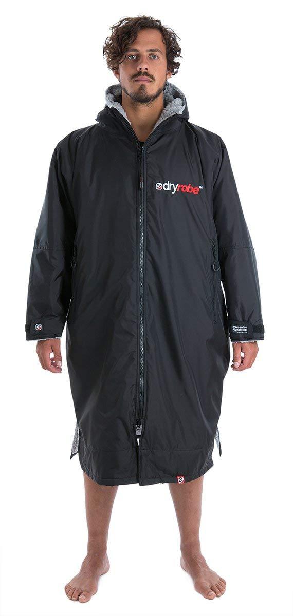 Dryrobe Advance Long Sleeve Change Robe - Stay Warm and Dry - Waterproof Oversized Swim Parka
