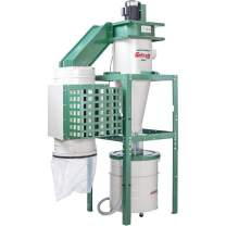 Grizzly Industrial G0441HEP - 3 HP Dual-Filtration HEPA Cyclone Dust Collector