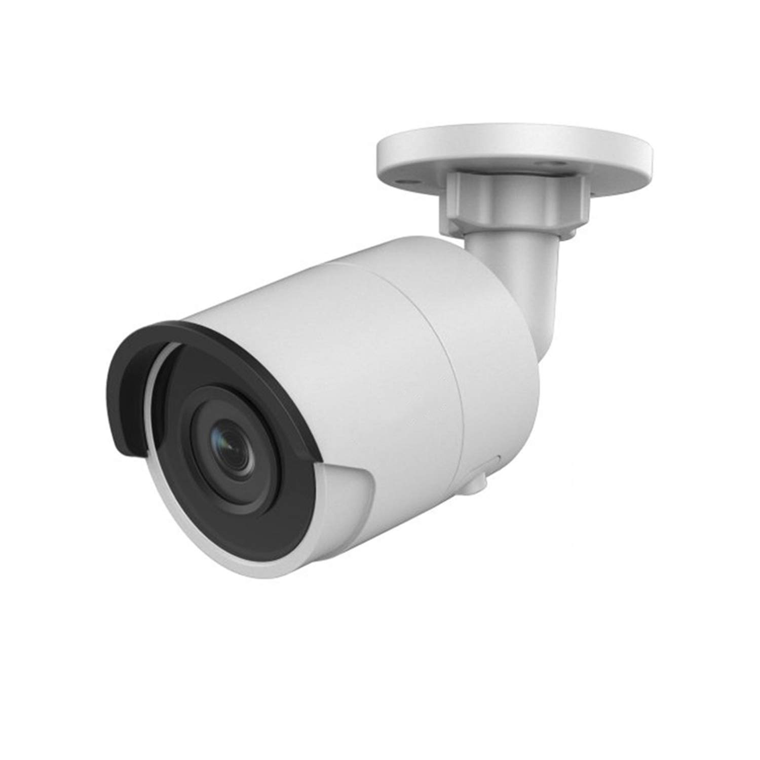 (Hik Compatible) OEM 4MP PoE IP Outdoor Bullet H265+ 2K HD Camera with EXIR 98ft Night Vision 4mm Lens, English Version Smart H.265+ ONVIF IP67 Waterproof Camera with SD Card Slot, DS-2CD2043G0-I