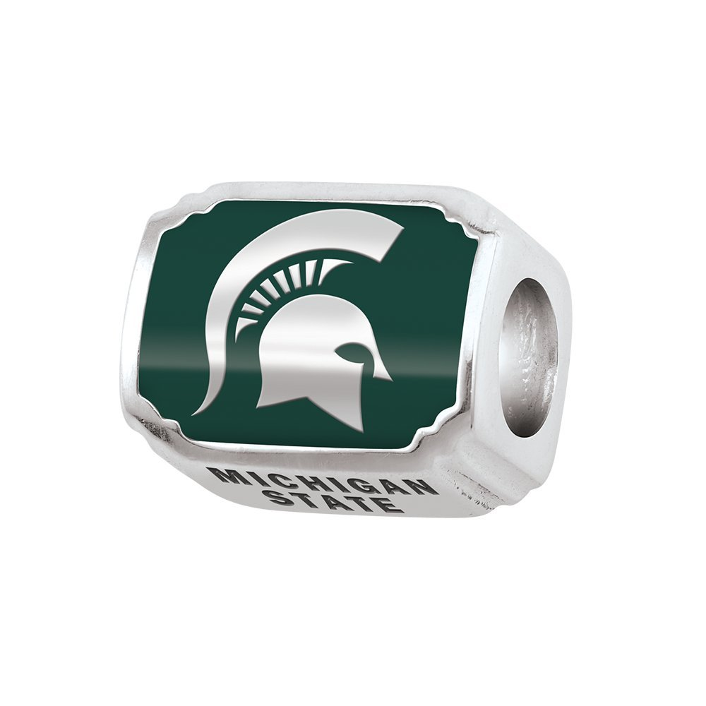 Persona Sterling Silver Michigan State University Beads and Charms