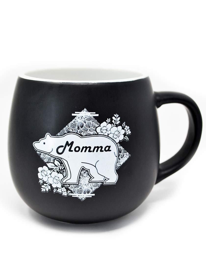LeRage Mama Bear Coffee Mug Gift for Mom 14oz Jumbo Cup for Women Cute Present