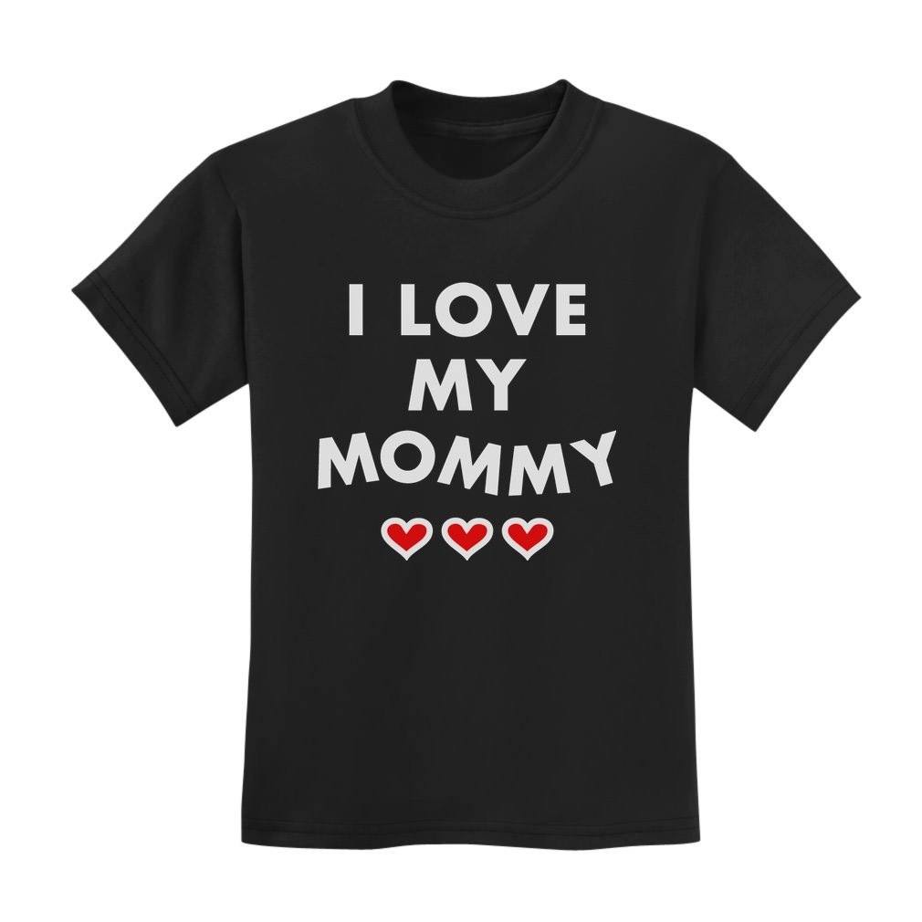 I Love My Mommy Shirt Mother's Day Gift For Mom Cute Kids T-Shirt
